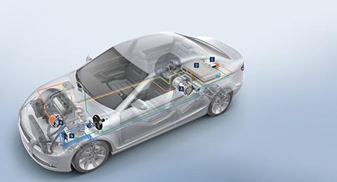 Servicio de vehículo híbrido y eléctrico